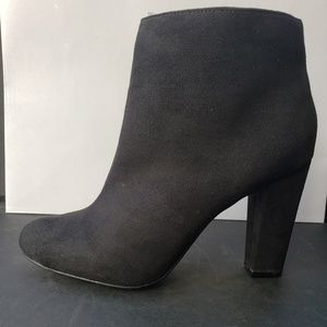 Bamboo Ankle Booties, Size 8